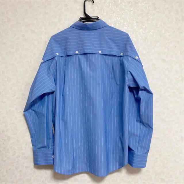 LE CIEL BLEU(ルシェルブルー)のルシェルブルー Peel Off Oversized Shirt レディースのトップス(シャツ/ブラウス(長袖/七分))の商品写真