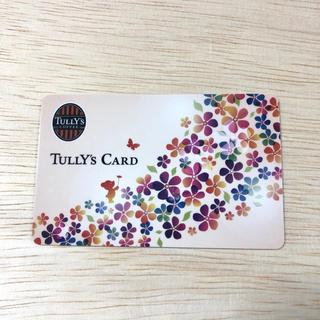 タリーズコーヒー(TULLY'S COFFEE)のタリーズカード 春 ベアフル(ノベルティグッズ)