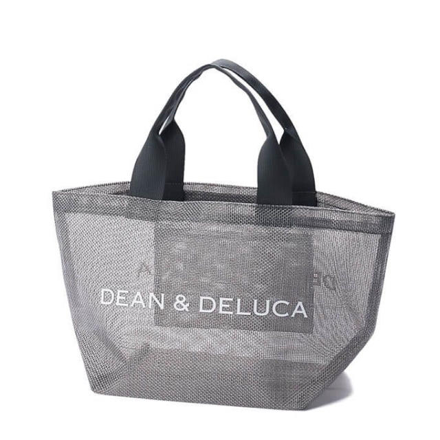 DEAN & DELUCA(ディーンアンドデルーカ)の限定!DEAN&DELUCA メッシュバッグ S メッシュトートバッグ シルバー レディースのバッグ(トートバッグ)の商品写真