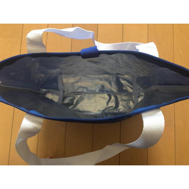 アサヒ(アサヒ)の【新品】カルピスドット柄 エコバック🛍    保冷バック 2個セット レディースのバッグ(エコバッグ)の商品写真