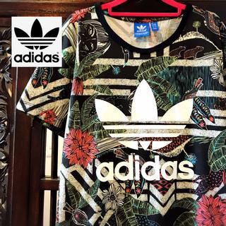 adidas - アディダス adidas 花柄 ML Tシャツ タンクトップ ジャージ