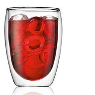 ボダム(bodum)のパヴィーナ PAVINA ダブルウォールグラス 350ml 1個(グラス/カップ)