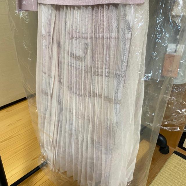 eimy istoire(エイミーイストワール)のエイミーイストワール EMスカーフスカートコンビニットワンピース レディースのワンピース(ロングワンピース/マキシワンピース)の商品写真