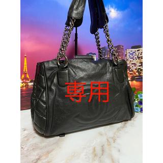 CHANEL - CHANEL シャネル【正規品】美品 バッグ チェーン マトラッセ デカココ