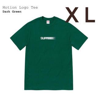 シュプリーム(Supreme)のSupreme Motion Loge Tee  Dark Green XL (Tシャツ/カットソー(半袖/袖なし))