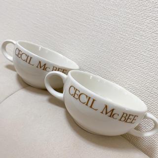 CECIL McBEE - セシル スープカップ 食器セット