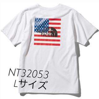 THE NORTH FACE - ノースフェイス 半袖Tシャツ NT32053 ホワイト Lサイズ