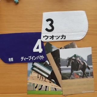 競馬 コースター ポストカード(ノベルティグッズ)
