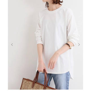 IENA - 新品★ IENA  ラウンドテールロングTシャツ
