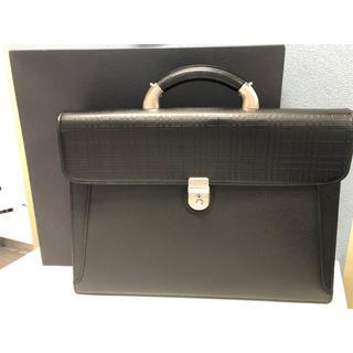 バーバリー(BURBERRY)のバーバリー ビジネスバッグ  ⭐︎美品⭐︎ブラック(ビジネスバッグ)