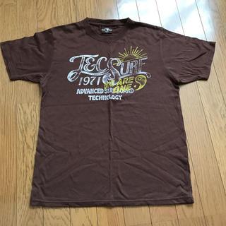 タウンアンドカントリー(Town & Country)のメンズTシャツ Mサイズ 茶色(Tシャツ/カットソー(半袖/袖なし))