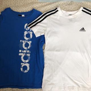 adidas - アディダス Tシャツ 2枚セット 140