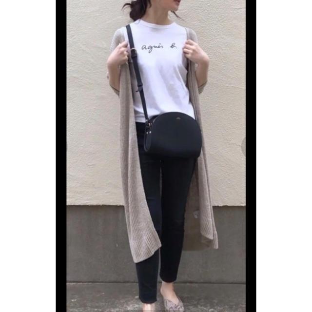 agnes b.(アニエスベー)の【新品】agnes b アニエスベー Tシャツ ホワイト Mサイズ レディースのトップス(Tシャツ(半袖/袖なし))の商品写真