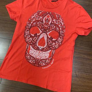 アレキサンダーマックイーン(Alexander McQueen)のアレクサンダーマックイーン Tシャツ スカル Sサイズ相当です。(Tシャツ/カットソー(半袖/袖なし))