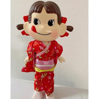 フジヤ(不二家)のレア ペコちゃん人形(ノベルティグッズ)