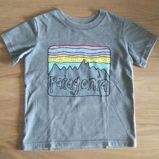 パタゴニア(patagonia)のpatagonia Tシャツ キッズ 3T グレー(Tシャツ/カットソー)