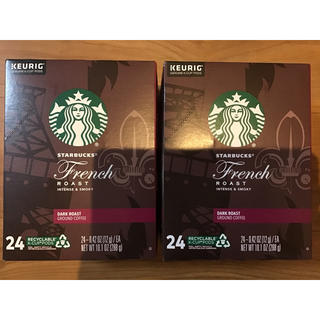 Starbucks Coffee - 24個を2箱 キューリグ KEURIG k-cup STARBUCKS