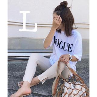 ZARA - Tシャツ 女性 VOGUE コットン ファッション レッド カジュアル 半袖