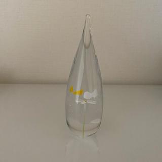 イイノナホ♡ペーパーウェイト ガラス ランデブー(置物)