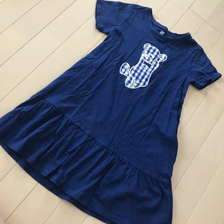 Design Tshirts Store graniph - グラニフ 130  ワンピース くまさん