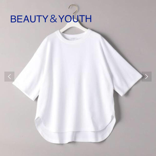 BEAUTY&YOUTH UNITED ARROWS - 新品未使用!BEAUTY&YOUTH 5部袖カットソー