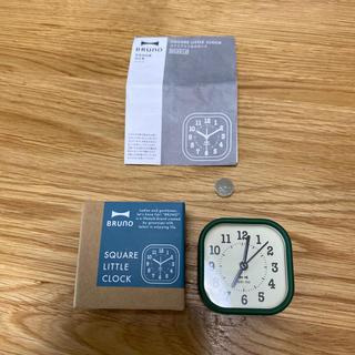 イデアインターナショナル(I.D.E.A international)のブルーノ スクエアリトルクロック(置時計)