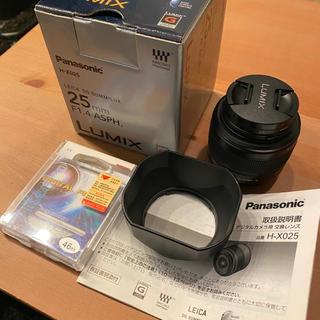 Panasonic - LEICA DG SUMMILUX 25mm F1.4 ASPH.