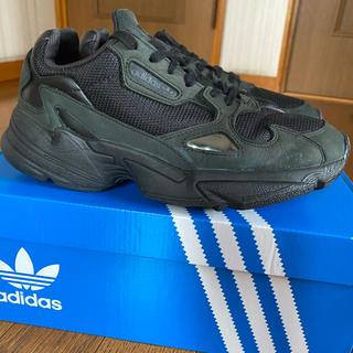 adidas - adidas ファルコン ブラック 23.5cm