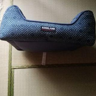 コストコ(コストコ)のKIRKLAND ペットベッド 角型 紺色(デニム色?) 犬/猫 ベッド(その他)