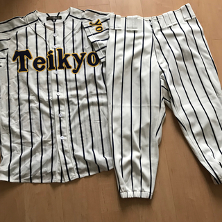 帝京高校野球部 公式戦 ユニホーム 上下