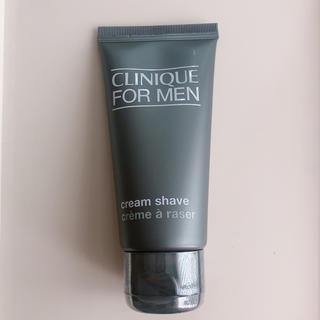 クリニーク(CLINIQUE)のCLINIQUE FOR MEN シェービングクリーム(シェービングフォーム)