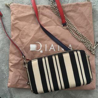 ダイアナ(DIANA)のDIANA チェーン付き ショルダーバック(ショルダーバッグ)