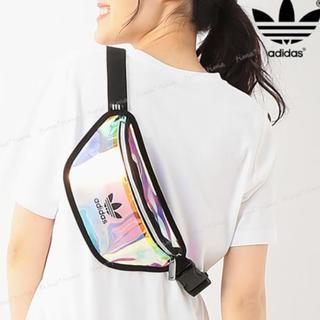 adidas - 新品!人気!虹彩色!アディダスウエストバッグ