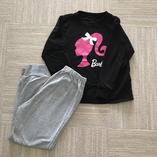 ジーユー(GU)のジーユー  バービー 長袖 パジャマ 130cm(パジャマ)