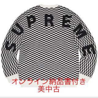 シュプリーム(Supreme)のsupreme 20ss  back logo sweater M (ニット/セーター)