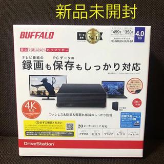 Buffalo - 【新品未開封】バッファロー 外付け ハードディスク 4TB