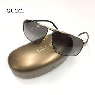 Gucci - 1.2回使用 グッチ サングラス/ティアドロップ GG2214 ブラック系