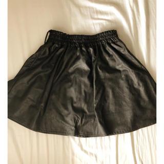 バブルス(Bubbles)のblack  miniskirt(ミニスカート)