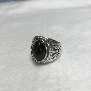 ストーンリング 23号 オニキス ブラック(リング(指輪))
