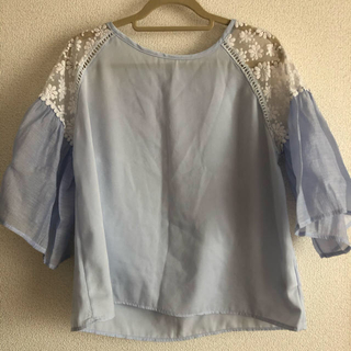 flower - nostalgic lace blouse