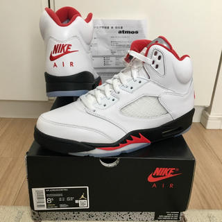 ナイキ(NIKE)のAIR JORDAN 5 RETRO FIRE RED(スニーカー)