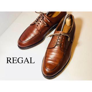 REGAL - [美品]REGAL 革靴 Uチップ ブラウン