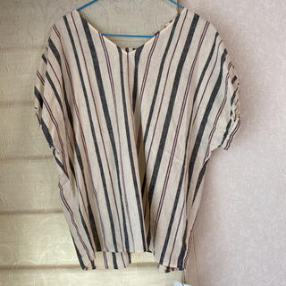 プラステ(PLST)のPLST リネンブラウス 新品(シャツ/ブラウス(半袖/袖なし))