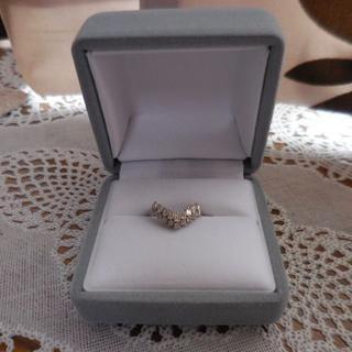 ミツコシ(三越)の三越 P900 プラチナ ダイヤモンドリング 0.50ct 11号 新品仕上げ(リング(指輪))