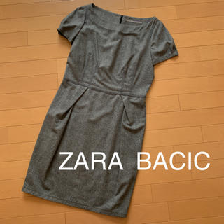 ZARA - 週末セール❣️ZARA  BACIC ❤︎レディースワンピース ❤︎Lサイズ