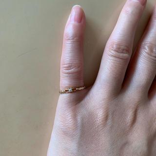 ジュピターゴールドレーベル(jupiter GOLD LABEL)のjupiter ピンキーリング 1号 k10(リング(指輪))
