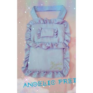 アンジェリックプリティー(Angelic Pretty)のAngelic pretty すやすやベッドトートバッグ 東京店限定 ラベンダー(トートバッグ)