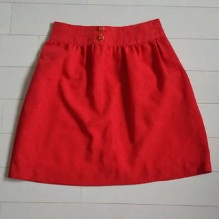 プーラフリーム(pour la frime)のpour la frime スカート 赤色(ミニスカート)