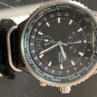 オリエント(ORIENT)のオリエント キングマスター ワールドタイム(腕時計(アナログ))