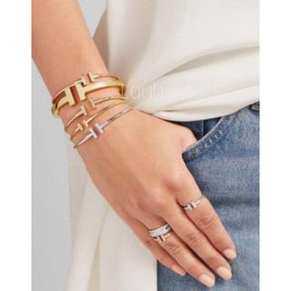 Ron Herman - j358.Tiffany T square bracelet(gold)